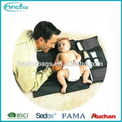 2015 foldable baby nappy changing bag