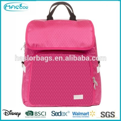 High quality colorful backpack diaper bag for mommy with handle