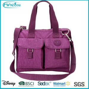 2015 Fashion multi-pocket high capacity nylon baby bag for mommy shopping