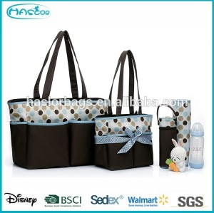 Good Quality Baby Nappy Bag Set for Lady