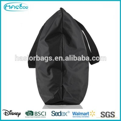 Simple design nylon shopping bag with handle