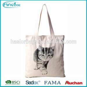 Wholesale cheap canvas reusable shopping bag