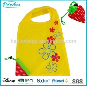 Wholesale Fashion Polyester Cheap Foldable Shopping bag