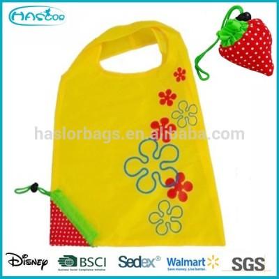 Wholesale Fashion Polyester Cheap Foldable Shopping bag