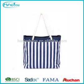Femmes Hotselling bande plage fourre - tout sac, 600D Polyester toile sac fourre - tout