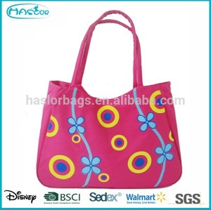 2015 Wholesale Beautifully Printed customTote bag