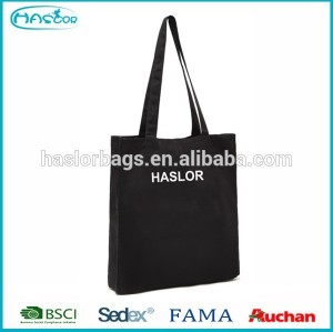 Cheap custom reusable cotton shopping bag with logo