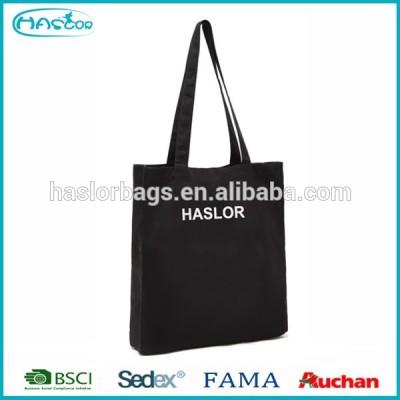 Cheap custom reusable cotton shopping bag with logo