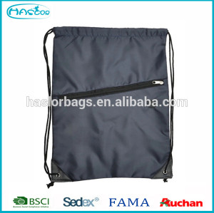 Cheap 210D polyester promotional drawstring bag