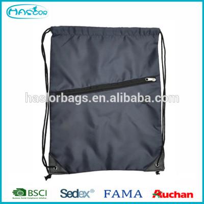 Cheap 210D polyester promotional drawstring bag