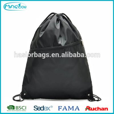 Promotionnel personnalisé sac de sport sac de cordon avec casque fente