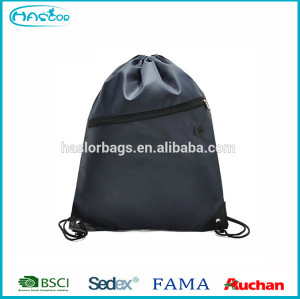 Promotion string backpack with zipper