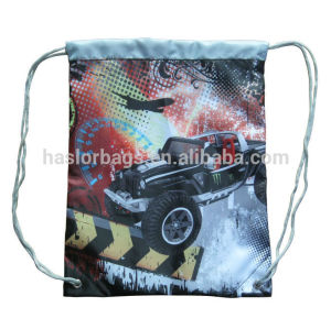 Wholesale Cheap Custom Fabric Kids Drawstring Shoe Bag