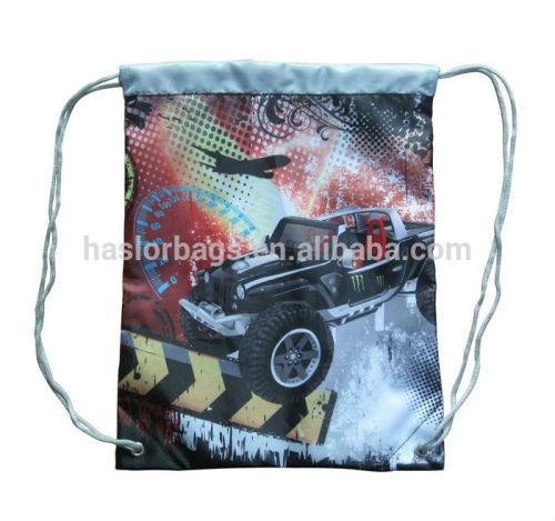 Wholesale Cheap Custom Fabric Kids Drawstring Shoe Bag