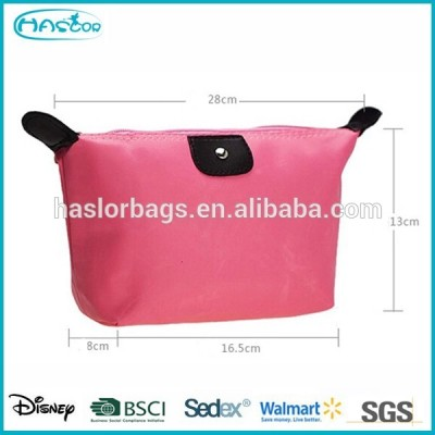Portable cheap women travelling cosmetic bag
