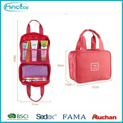 2015 Waterproof Travel toiletry bag,cosmetic bag organizer bags with hanger