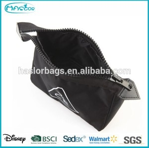Folding promotional brand cosmetic bag for travel