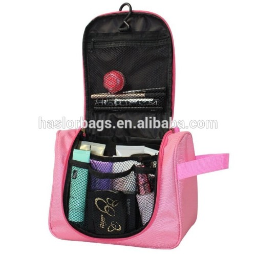 Folding travel cosmetic bag/travel washing bag for women