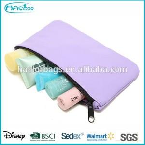 cheap custom mini cosmetic sample pouch
