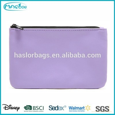 Cosmetic colors zipper pouch for promotion