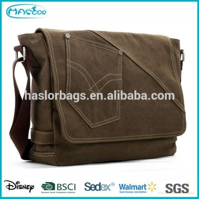 Good Quality of Canvas Bag Messenger /Document Bag /Briefcase
