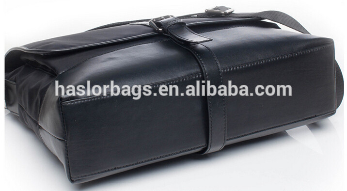 Leather Men Messenger Bag /Document Bag /Briefcase for Business