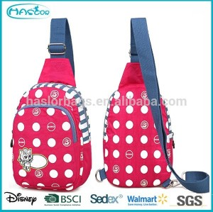 Teen Outdoor Hot Selling Fashion Desing Pink Sport Sling Bag