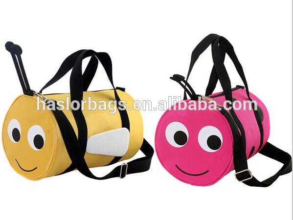 Bee Design of Two Sided Shoulder Bag for Girls