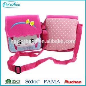 Hot Selling New Model Cartoon Pattern Long Strap Shoulder Bag For Girls