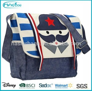 Hotselling Fashion Canvas Messenger Bag,Teen Shoulder Bag