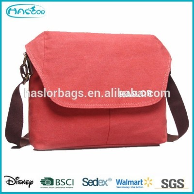 2015 china wholesale canvas girls messenger bags for school
