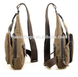 one strap canvas backpack wholesale