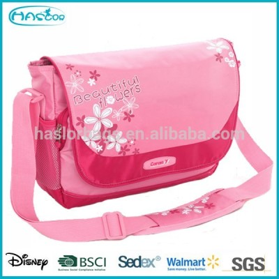 New Design Fashion Polyester Shoulder Strap School Bag, Shoulder belt Messenger bag