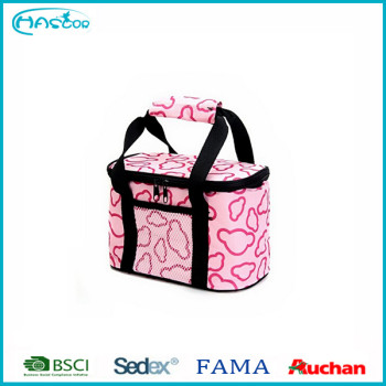 2016 nouvelle conception déjeuner cooler sac en gros rose sac isotherme