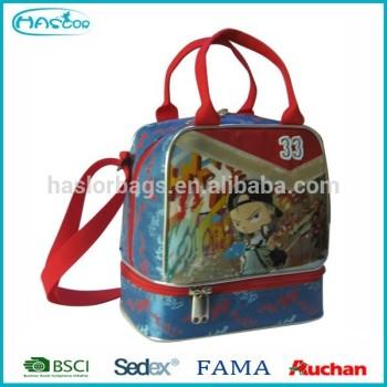 Gros personnalisé pas cher isolé gros enfants sac à Lunch pour l'école