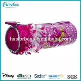 Lutin mignon de Rolling sac de crayon / crayon cas avec ruban pour les filles