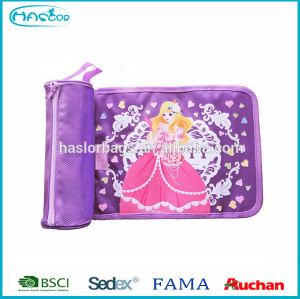Princess Pencil Pouch /Round Pencil Case for Girls