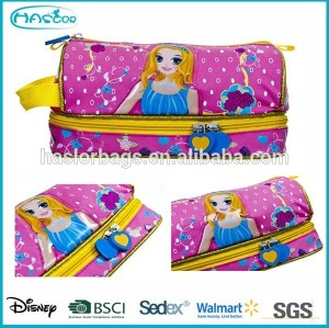Nice Girl Printing Pencil Bag /Fashion Pencil Case for Kids