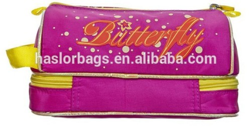 Fashion Pencil Bag / Butterfly Pattern Color Pencil Case for Girls