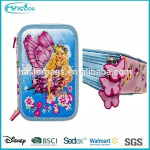 Cute Girl 3 Layers Pencil Case / Pencil Case Brands HASLOR