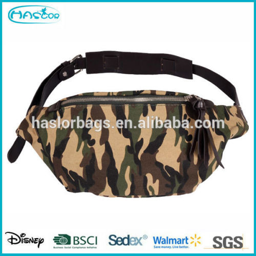 cool design men durable canvas military bags with camouflage pattern