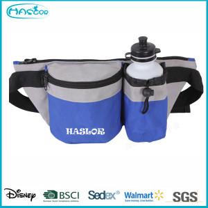 Custom Sport Elastic Waterproof Waist Bag With Phone Pocket