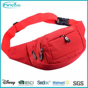 Personnalisé mode sport de ceinture de côté sac pour femmes