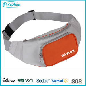 Custom Waterproof Polyester Tooled Belts Sport Elastic Waist Bag for Men/Women