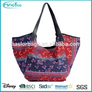 Fashon Printing 600d Polyester Canvas Tote Bag for Lady