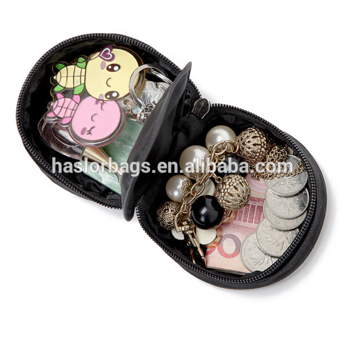 Trendy cute round shaped coin pouch for promotion