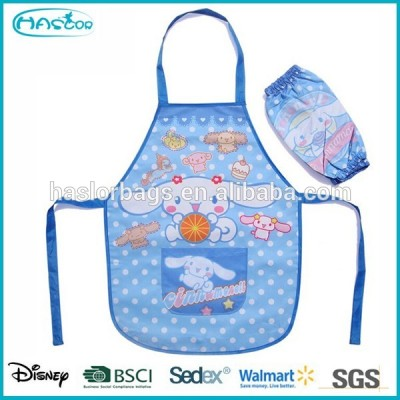 Waterproof children painting apron