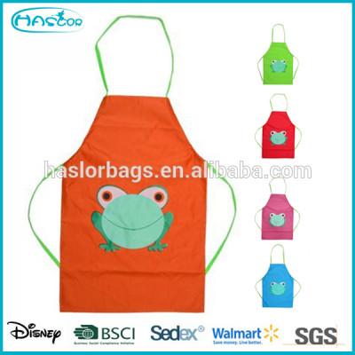 Cartoon pattern kids apron school children painting apron