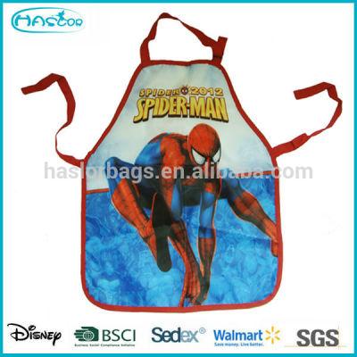 Wholesale Waterproof Cute Cartoon PVC Kids Apron