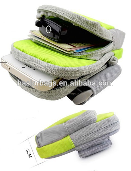 2014 mode Sport de plein air téléphone cellulaire sangle sac